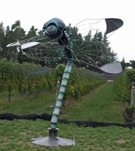 Dragonfly - Sculpture in the Country